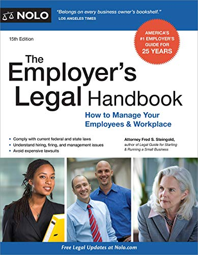 Employer's Legal Handbook, The (Legal Guide for Starting & Running a Small Business) (English Edition)