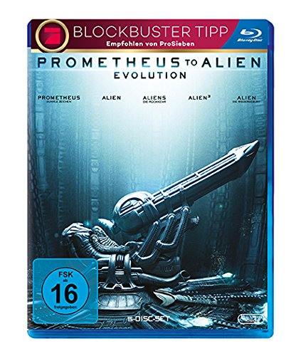 Prometheus to Alien: Evolution [5 Blu-rays] [Blu-ray]