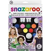 "Snazaroo - Set de Pintura facial ""Lo último pack de fiesta"""