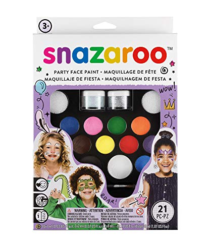 Snazaroo Ultimate Party Pack - Set de Maquillaje de Fiesta