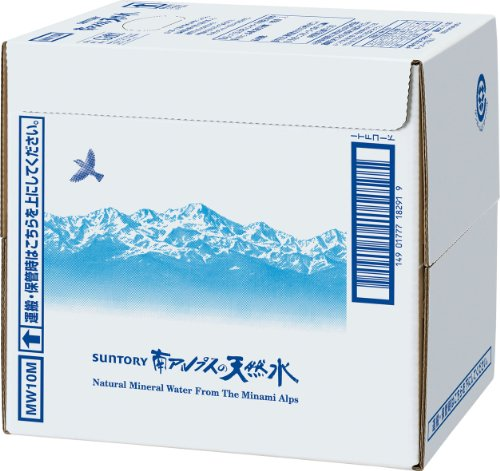 サントリー 天然水10L 蛇口付き バッグインボックス