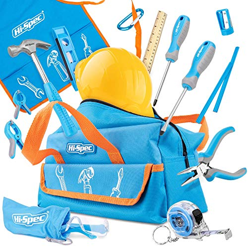 Tools Hi-Spec 18 Piece Kids Tool, with...