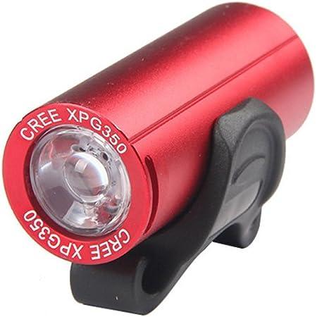 USB Ricaricabile 400 Lumen HA Condotto LA Luce Anteriore della Bici Impermeabile di Alta Luminoso 8 Ore di Sicurezza in Harilla Faro della Bicicletta