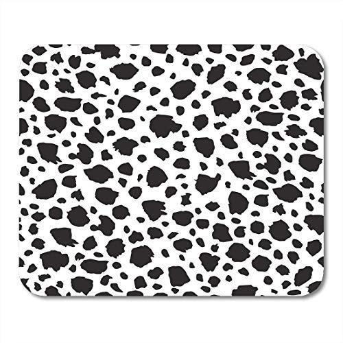 AOHOT Mauspads Dalmation Spotted Pattern Dog Spot Dalmatian Fur Mouse pad 9.5