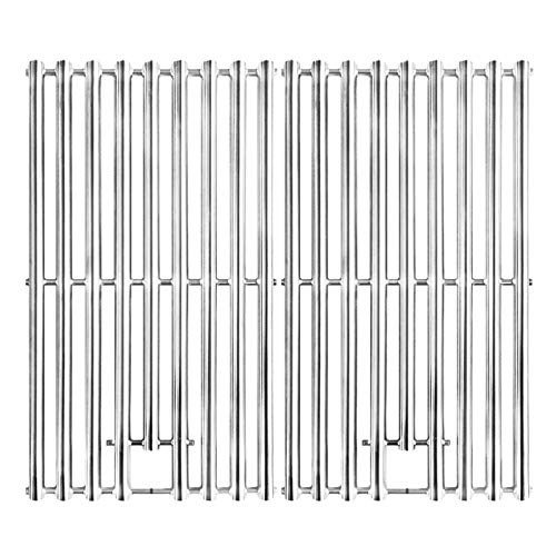 BBQ funland Stainless Steel Cooking Grate Grid Replacement for Nexgrill 720-0830H 720-0773, Charbroil 463411512, Kenmore 122.16134 Gas Grill Parts 17 1/4' x 13 1/4', Set of 2