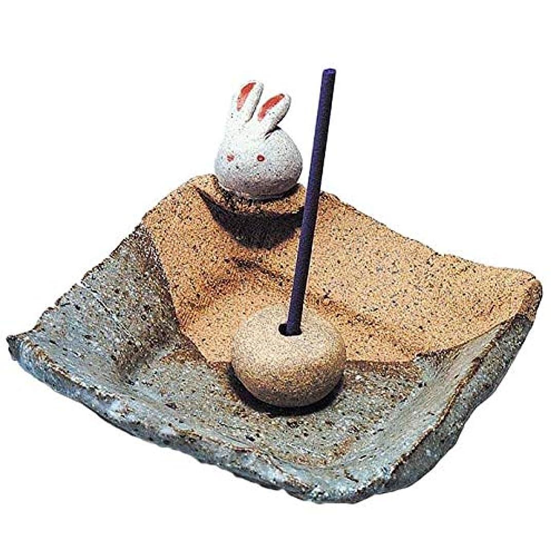 爆弾死の顎クラシカル手造り 香皿 香立て/うさぎ 香皿/香り アロマ 癒やし リラックス インテリア プレゼント 贈り物