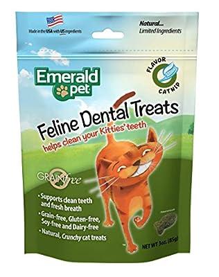 Emerald Pet Natural FELINE Dental Treats