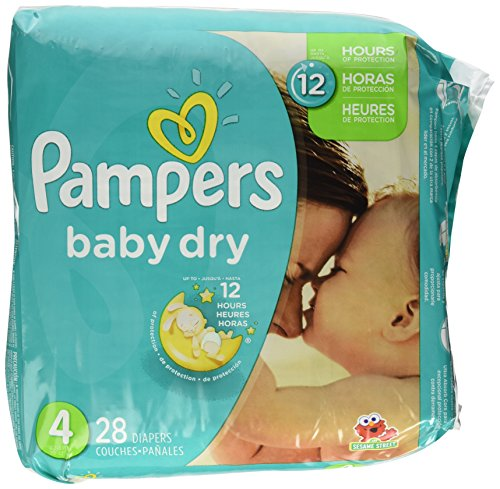 Pampers Baby Dry Diapers, Jumbo Pack - Size 4 - 28ct
