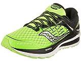 Saucony Triumph Iso 2 - Entrenamiento y correr Hombre, Multicolore (Slime/Bk), 42.5 EU