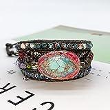 Zoom IMG-1 haifiy braccialetto in pelle con