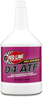 Red Line 30504 D4 Automatic Transmission Fluid - 1 Quart