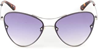Luxury Fashion | Alexander Mcqueen Womens MQ0137S005 Silver Sunglasses | Fall Winter 19