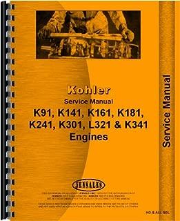 International Lawn & Garden Tractor Kohler Engine Service Manual