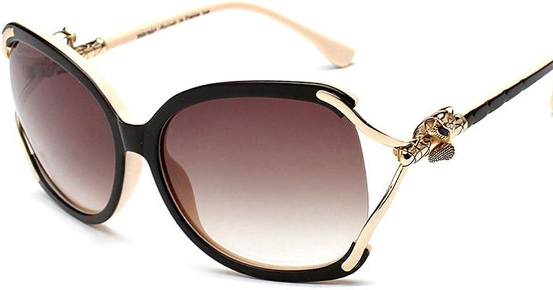 Women's Fashion Classic Sunglasses, Polarized Sunglasses. (color   Black Pink)