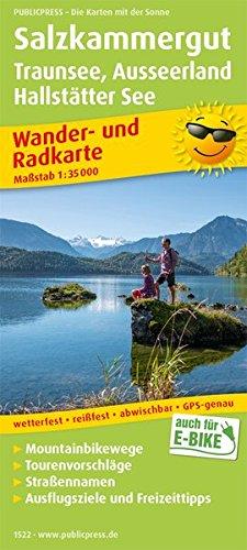 Salzkammergut, Traunsee, Ausseerland, Hallstätter See: Wander- und Radkarte mit Ausflugszielen & Freizeittipps, wetterfest, reißfest, abwischbar, GPS-genau. 1:35000 (Wander- und Radkarte: WuRK)