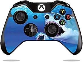 MightySkins Skin Compatible with Microsoft Xbox One or One S Controller - Great Whites | Protective, Durable, and Unique Vinyl wrap Cover | Easy to Apply, Remove, and Change Styles | Made in The USA