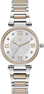 Gc Womens Quartz Watch, Analog Display And Stainless Steel Strap - Y64001L1MF