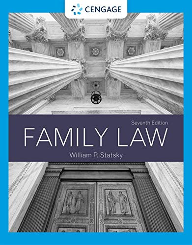 Compare Textbook Prices for Family Law MindTap Course List 7 Edition ISBN 9781337917537 by Statsky, William P.