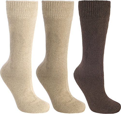 Trespass Sliced Chaussettes Homme Pierre/Marron FR : 4-7 (Taille Fabricant : 4-7)