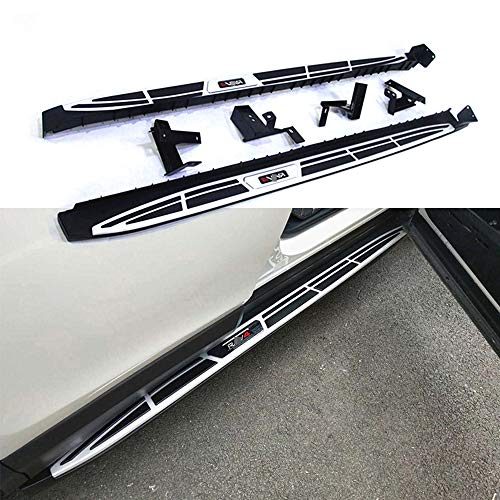 UDP – Juego de 2 estribos fijos para Pedales Laterales de Pedal Nerf Bar para Toyota RAV4 RAV-4 2013 2014…