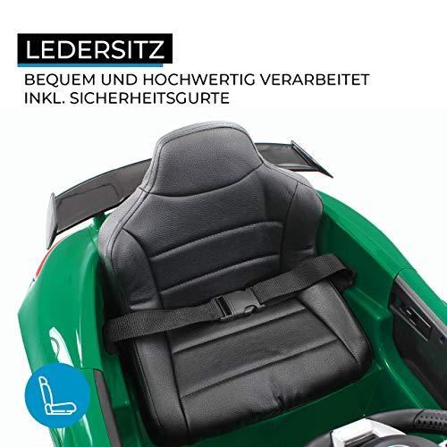 RC Auto kaufen Kinderauto Bild 2: Actionbikes Motors Kinder Elektroauto Mercedes Amg GT-R - lizenziert – 2 x 25 Watt Motor – Ledersitz - Eva Reifen – Softstart - Kinderauto (Rot)*