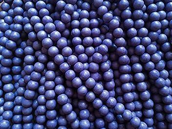 Sadingo Holzperlen runde Perlen zum basteln fuchsia//pink 50 Stk. 8 mm