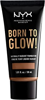 NYX Professional Makeup, Born To Glow Naturally Radiant Foundation - Warm Caramel 15.7