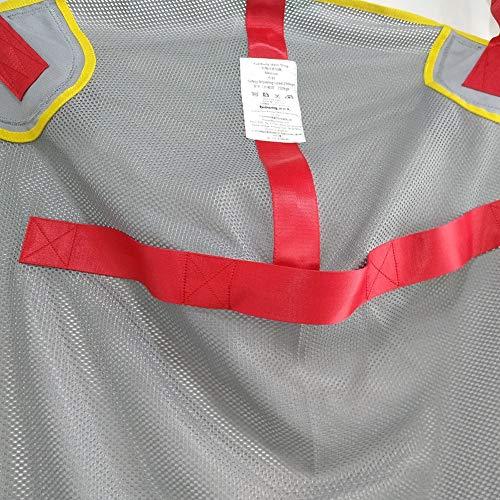 51QA5rhcSgL - Paciente Levantar Honda - Transferir Manta para Cama Posicionamiento Y Levantamiento - Grande Médico Dispositivo para Cuidador Mayor Discapacitado Cuerpo Completo Y Postrado En Cama