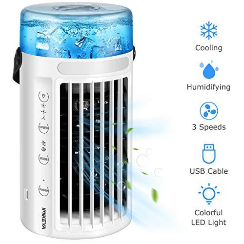 VOSAREA Mini Air Conditioner, Portable Air Conditioner Fan...