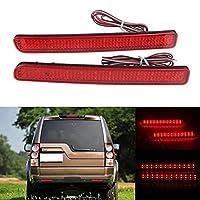 AL LED リア バンパー リフレクター ライト レッド ドライビング ブレーキ フォグランプ 対応車種: ランド ローバー用/ROVER用 AL-MM-2122