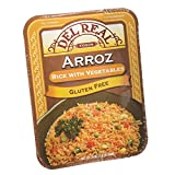 22 oz. Of rice per pack, at least 4 servings per pack, fully cooked, heat-in-minutes and serve Fully cooked Heat and serve About 4 servings per container Gluten Free and lactose free
