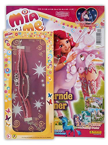 "Mia and Me Magazin 12/2019 mit 2 XL-Postern Comics und trendy ""Mia and me""-Armband"