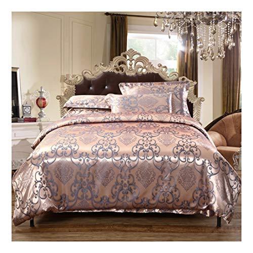LNLW Premium Bed Sheet Set 4 delige geborsteld microvezel, Hotel Luxury Beddengoed Lakens, ultra zachte, comfortabele, Fade Resistant, No Krimp (Color : Brown, Size : 180CM)