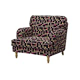 Soferia - IKEA STOCKSUND Funda para sillón, City Black