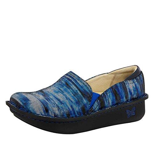 Alegria Debra Womens Professional Shoe Wavy Navy 7 M US