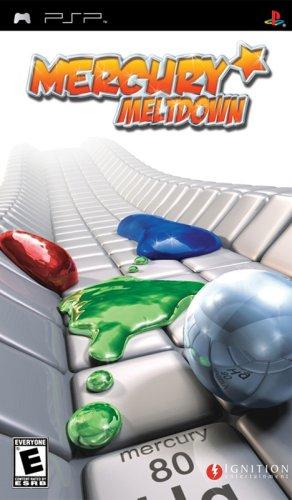 Mercury Meltdown - Sony PSP