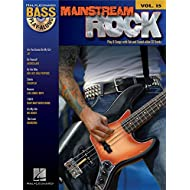 Hal Leonard Bass Play-Along Volume 15: Mainstream Rock. Partituras, CD para Guitarra Bajo
