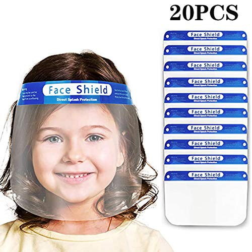 Find Bargain 【Fast Shipment】 Kids Dust Face Protections - 1/5/10/15/20 Pack Full Face Protective...
