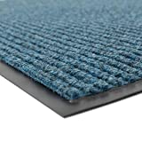 Notrax 109S0046BU Brush Step Entrance Mat, for Home or Office, 4' X 6' Slate Blue