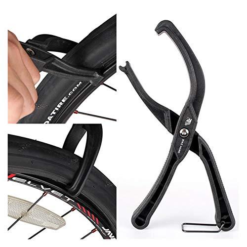 ooege Bicicletas de neumáticos de instalación Palanca de plástico Bici neumático Alicates práctica de Neumáticos for Desmontar neumáticos de reparación de Herramientas (Size : 001)