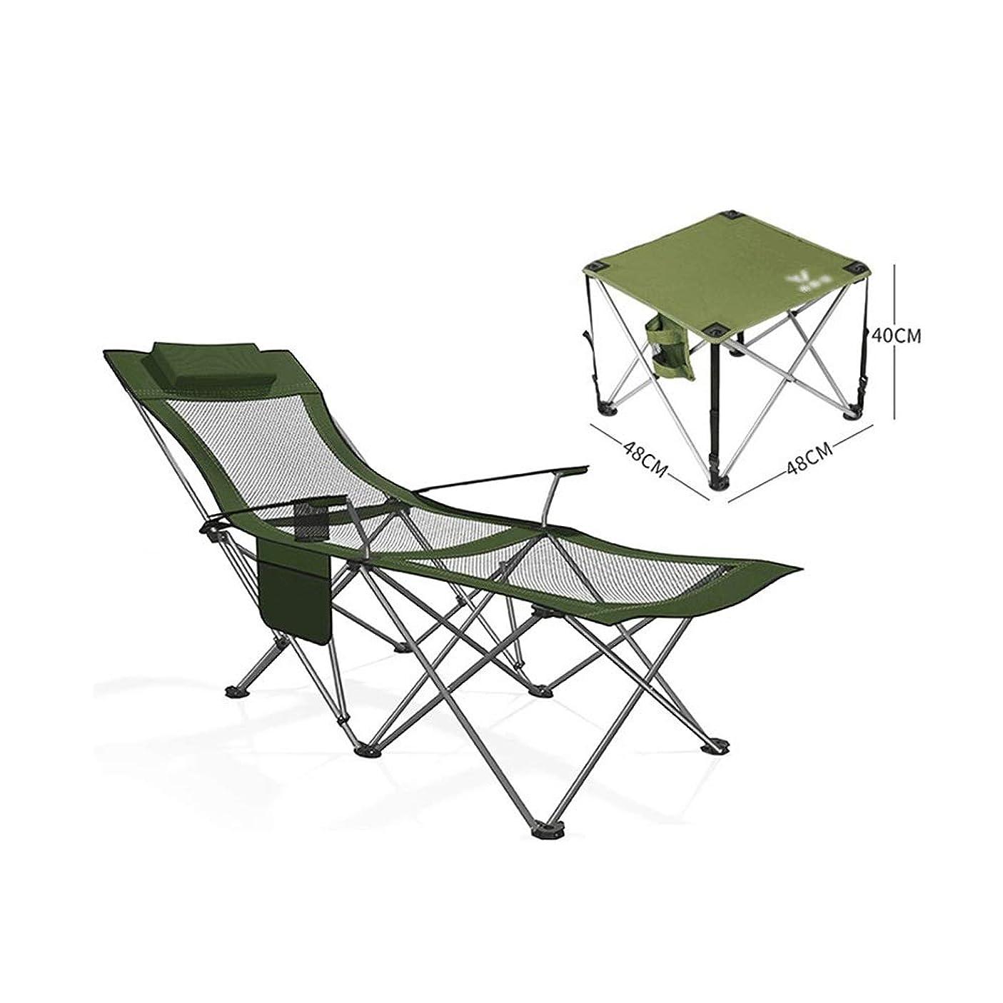 モーテルグリーンバック思いやりのあるHPLL ラウンジチェア キャンプ キャンプリクライニングチェア、屋内昼寝怠惰なレジャーチェア屋外キャンプガーデンサンデッキリクライニングチェア用ヘッドレスト付きポータブルキャンプチェア、90°-145°調整可能 折りたたみ式ベッド ビーチチェア (Color : D, Size : 170x58x70cm)