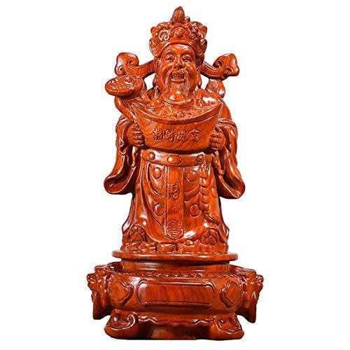 xinxinchaoshi Riqueza Suerte Estatua CAI Shen Statue Feng Sh