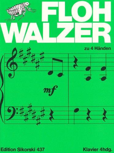 Flohwalzer. Klavier zu 4 Händen