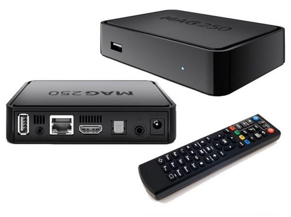 Rusia termosifón MAG 250 IPTV TV sin SET TOP BOX Internet TV + WiFi palillo Aura HD: Amazon.es: Electrónica