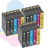 Ouguan® - Cartuchos de tinta compatibles con 603 XL y 603 para EpsonXP-2100, XP-2105, XP-3100, XP-3105, XP-4100, XP-4105, WF-2810, WF-2830, WF-2835, WF-2850, 6 negros/3 cian/3 magenta/3 amarillos