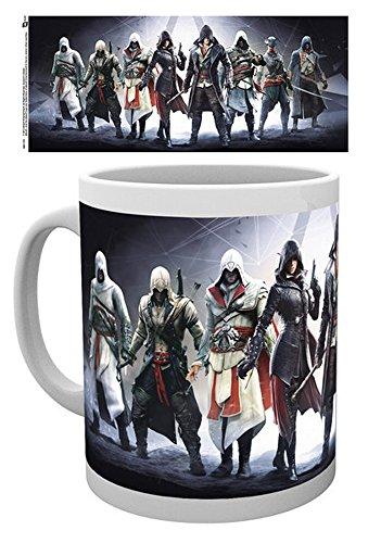 empireposter Assassins Creed - Assassins - Keramik Tasse - Größe Ø8,5 H9,5cm