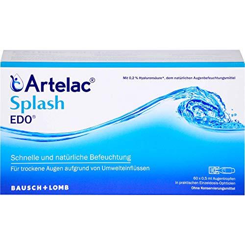 Artelac Splash Augentropfen EDO, 60 St. Einzeldosispipetten