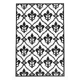 Ideen mit Herz Prägeschablone | 15 cm x 10 cm | passend für gängige Präge- & Stanzmaschinen (Französische Lilien)