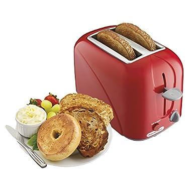 Proctor Silex 2-Slice Toaster, Red (22204)