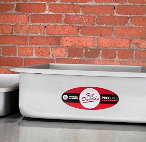 Fat Daddio's POB-9133 Sheet Cake Pan, 9 x 13 x 3 Inch, Silver